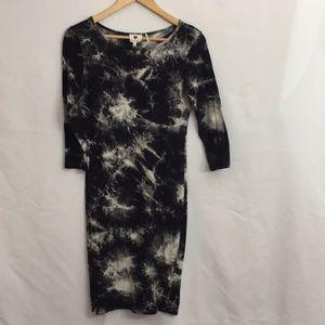 One Clothing Tie Dye 3/4 Sleeve Dress S